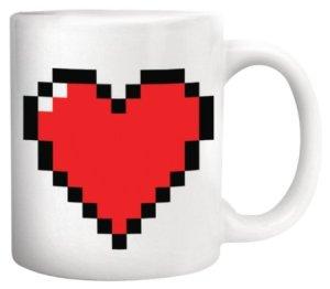 8 bit-heart coffee